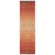 """Liora Manne Savannah Horizon Indoor Rug Saffron 24""""X7'6"""""""