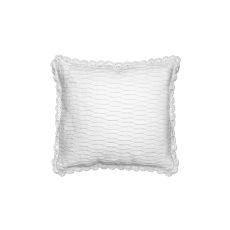 Seabreeze 18X18 Pillow , White