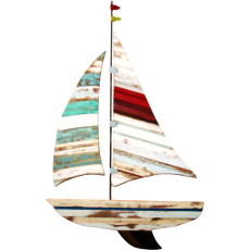 Sailboat Wooden Plaque