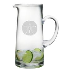 Sand Dollar  Etched Tankard Pitcher