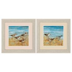 Sandpipers Framed Art Set of 2