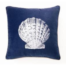 Scallop Shell Velvet Pillow