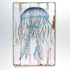 Sea Nettle Floorboard Art