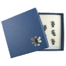 Seahorse Pewter Pushpins