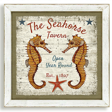 The Seahorse Tavern Framed Art