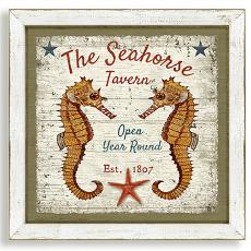 The Seahorse Tavern Framed Art
