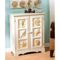 Seashell 2-Door Cabinet