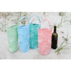 Sea Shell Wine Bottle Bags