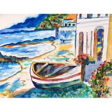 Sicilian Shore Door Mat