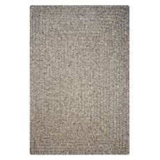 Homespice Decor 4' x 6' Rect. Slate Ultra Durable Braided Rug