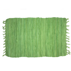 Green Solid Doormat