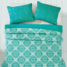 Adria Spectra Green Bedding Set