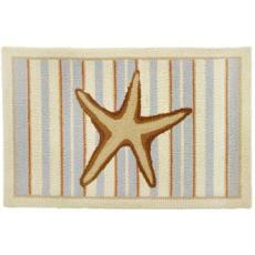 Starfish with Stripes (Neutral) Rug