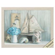 Summer House Crop Framed Art