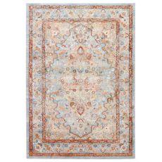 Oriental Pattern Polypropylene And Polyester Tabriz Area Rug