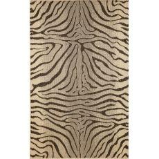 """Liora Manne Terrace Zebra Indoor/Outdoor Rug - Grey, 39"""" By 59"""""""