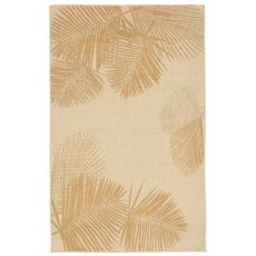"Liora Manne Terrace Palm Indoor/Outdoor Rug - Natural, 7'10"" by 7'10"""