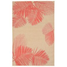 "Liora Manne Terrace Palm Indoor/Outdoor Rug - Natural, 4'10"" by 7'6"""