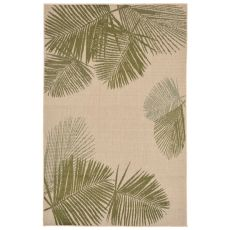 """Liora Manne Terrace Palm Indoor/Outdoor Rug - Natural, 7'10"""" By 9'10"""""""