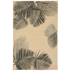 "Liora Manne Terrace Palm Indoor/Outdoor Rug - Natural, 39"" by 59"""