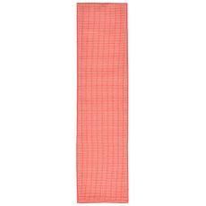 """Liora Manne Terrace Texture Indoor/Outdoor Rug - Orange, 23"""" by 7'6"""""""