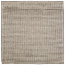 """Liora Manne Terrace Texture Indoor/Outdoor Rug - Silver, 7'10"""" By 7'10"""""""