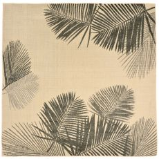 """Liora Manne Terrace Palm Indoor/Outdoor Rug - Natural, 7'10"""" By 7'10"""""""