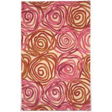 Liora Manne Tivoli Rambling Rose Indoor Rug - Pink, 5' By 8'