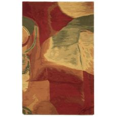 Liora Manne Tivoli Sonia Indoor Rug - Red, 5' By 8'