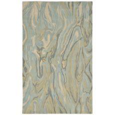 "Liora Manne Tivoli Marble Indoor Rug - Blue, 42"" By 66"""