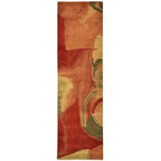 """Liora Manne Tivoli Sonia Indoor Rug - Red, 27"""" By 8'"""