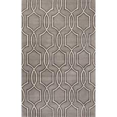 Trellis, Chain & Tiles Pattern Wool Town Area Rug