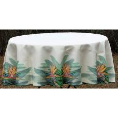 Bird of Paradise Round Table Cloth