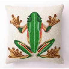 Tropical Frog Hook Pillow