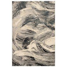 "Liora Manne Taos Brushstrokes Indoor Rug Grey 5'x7'6"""