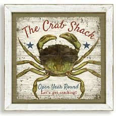 The Crab Shack Framed Art