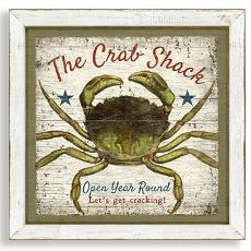 The Crab Shack Framed Art