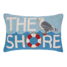 The Seagull Shore Hook Pillow