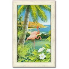 Personalized Tropical Paradise Print