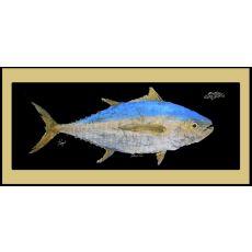 Yellowfin Tuna Mat With Border Floor Mat