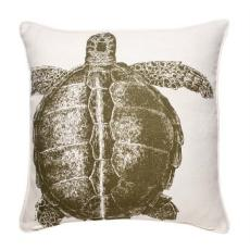 Thomas Paul Turtle Pillow in Lichen