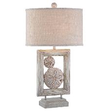 Twin Sand Dollar Table Lamp Sale