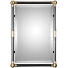 Uttermost Rondure Bronze Metal Wall Mirror
