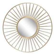 Uttermost Caspian Round Mirror