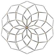 Uttermost Dorrin Geometric Floral Art