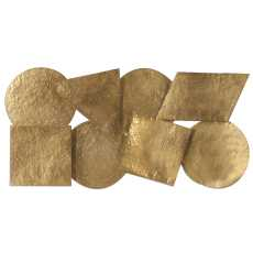 Uttermost Arrigo Gold Wall Art