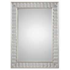 Uttermost Lanester Silver Leaf Mirror