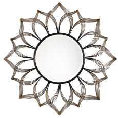 Uttermost Imani Iron Sunflower Mirror