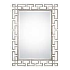 Uttermost Agata Silver Mirror