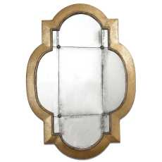 Uttermost Andorra Gold Leaf Mirror